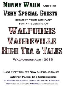 An Evening of Walpurgis Vaudeville